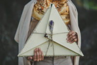 Triangle Book Wedding Album