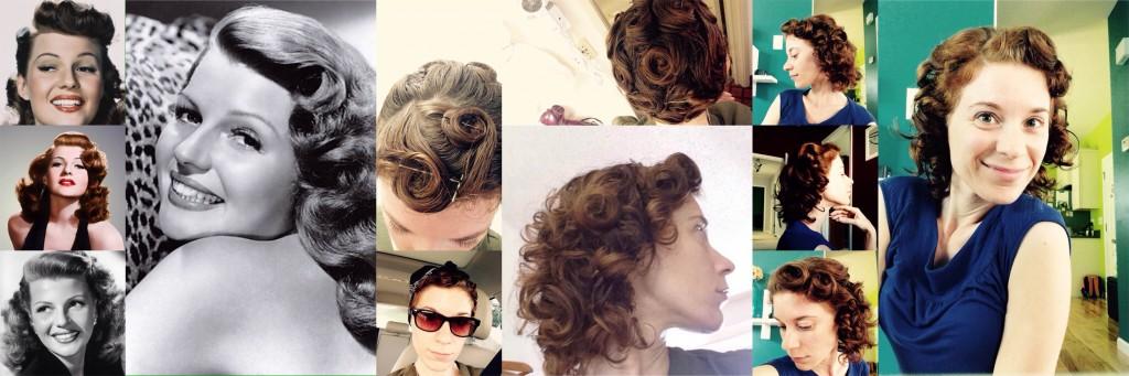 1940s Retro Hair