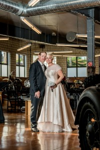 The Moto Museum St. Louis Biker Wedding
