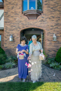 Grandmothers As Flower Girls