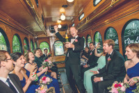 St. Louis Trolley Party Bus Wedding