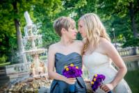 Lesbian Wedding Tower Grove Park