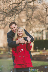 St. Louis Missouri Botanical Gardens Engagement