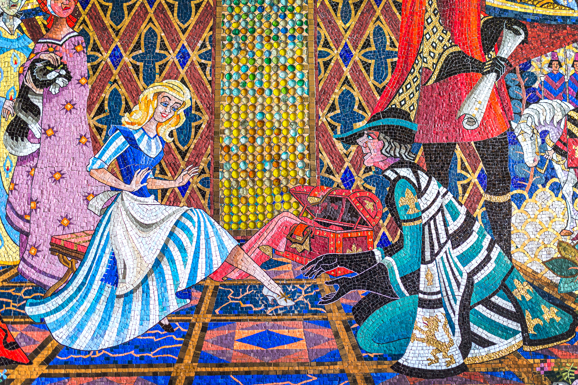 Cinderella Castle Mosaic Magic Kingdom
