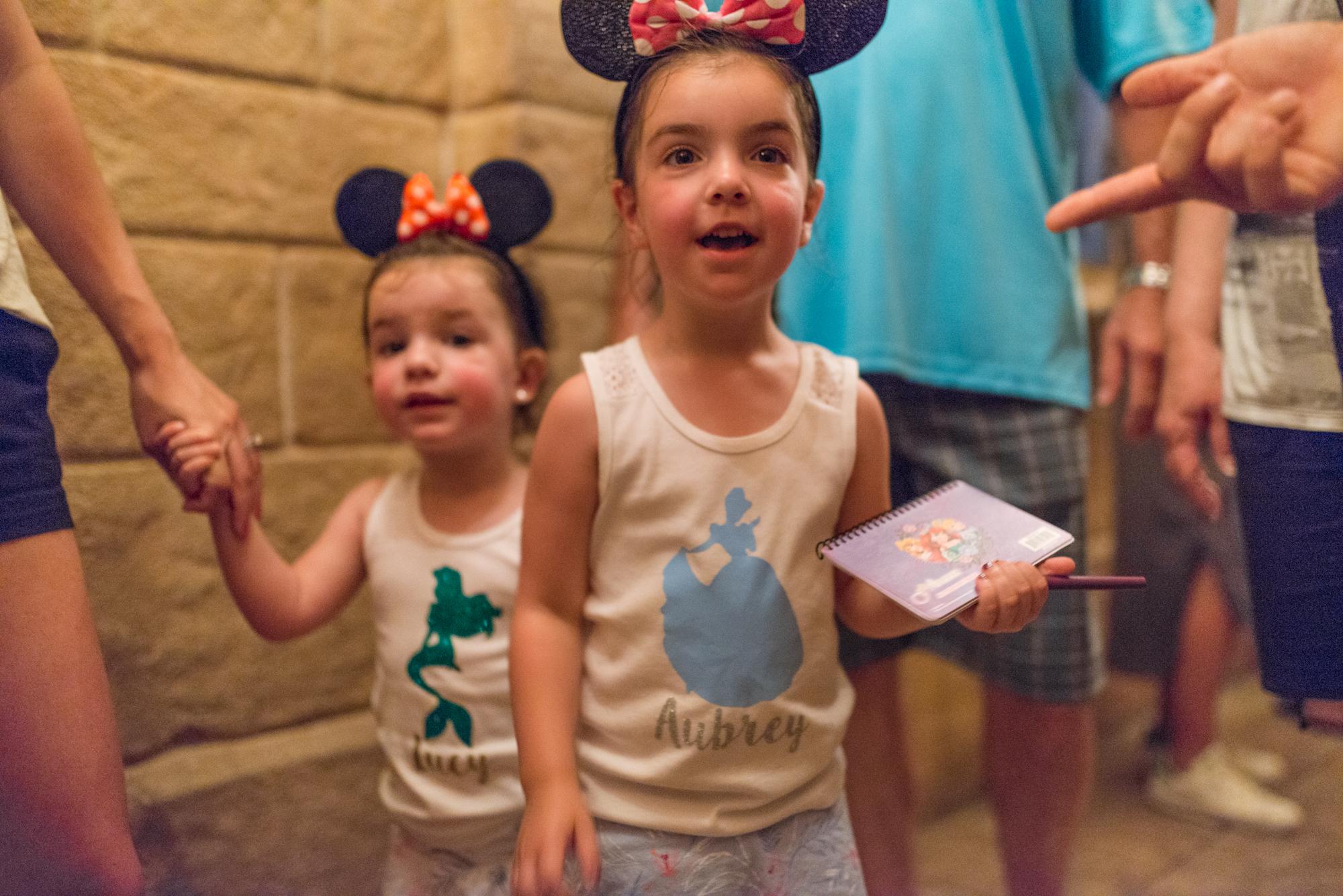 Magic Kingdom Vacation Portraits
