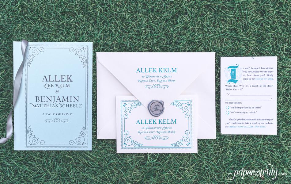 Nerdy Wedding Invitations