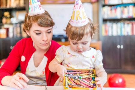 Crayon Themed Birthday