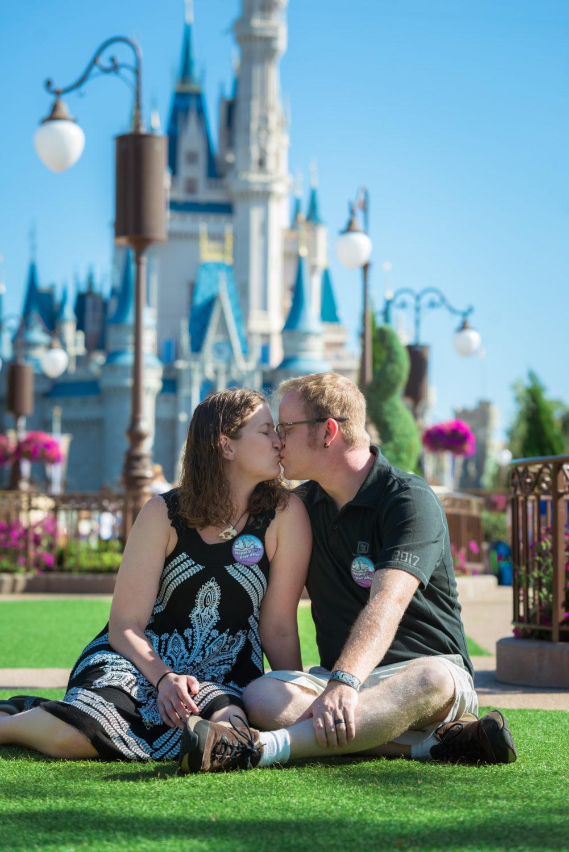 Disney World Engagement