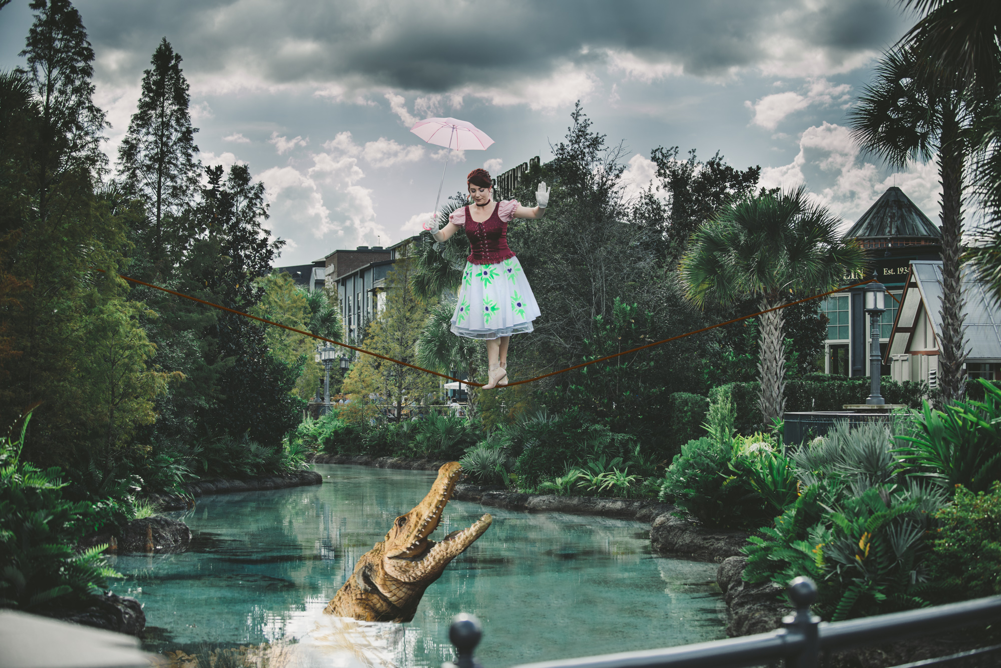 Haunted Mansion Tightrope Walker