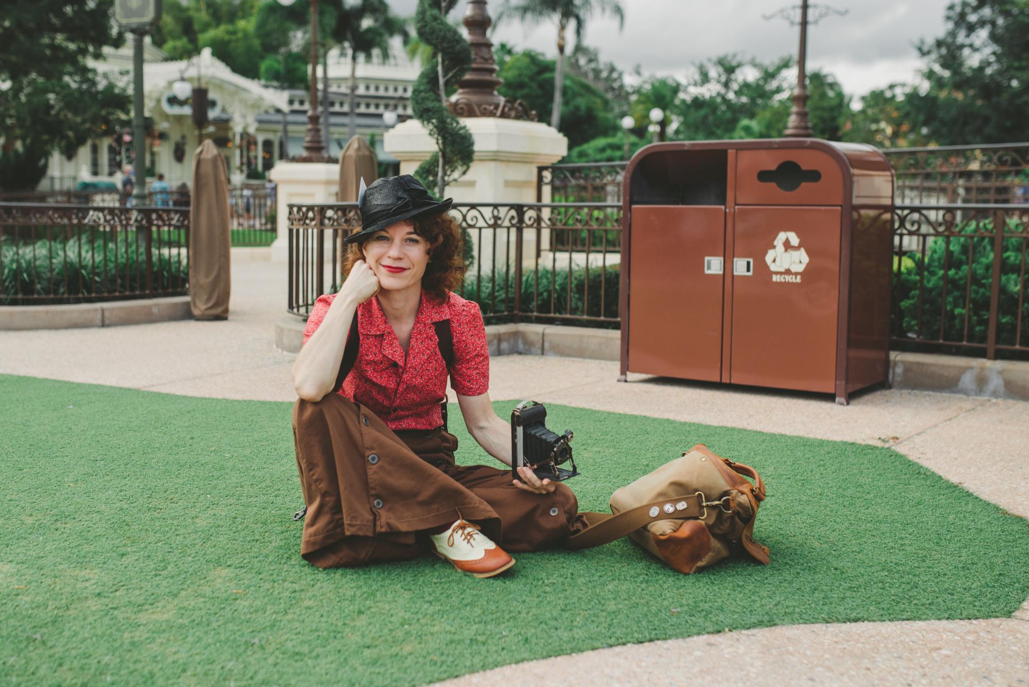 Disney Dapper Day Photographer