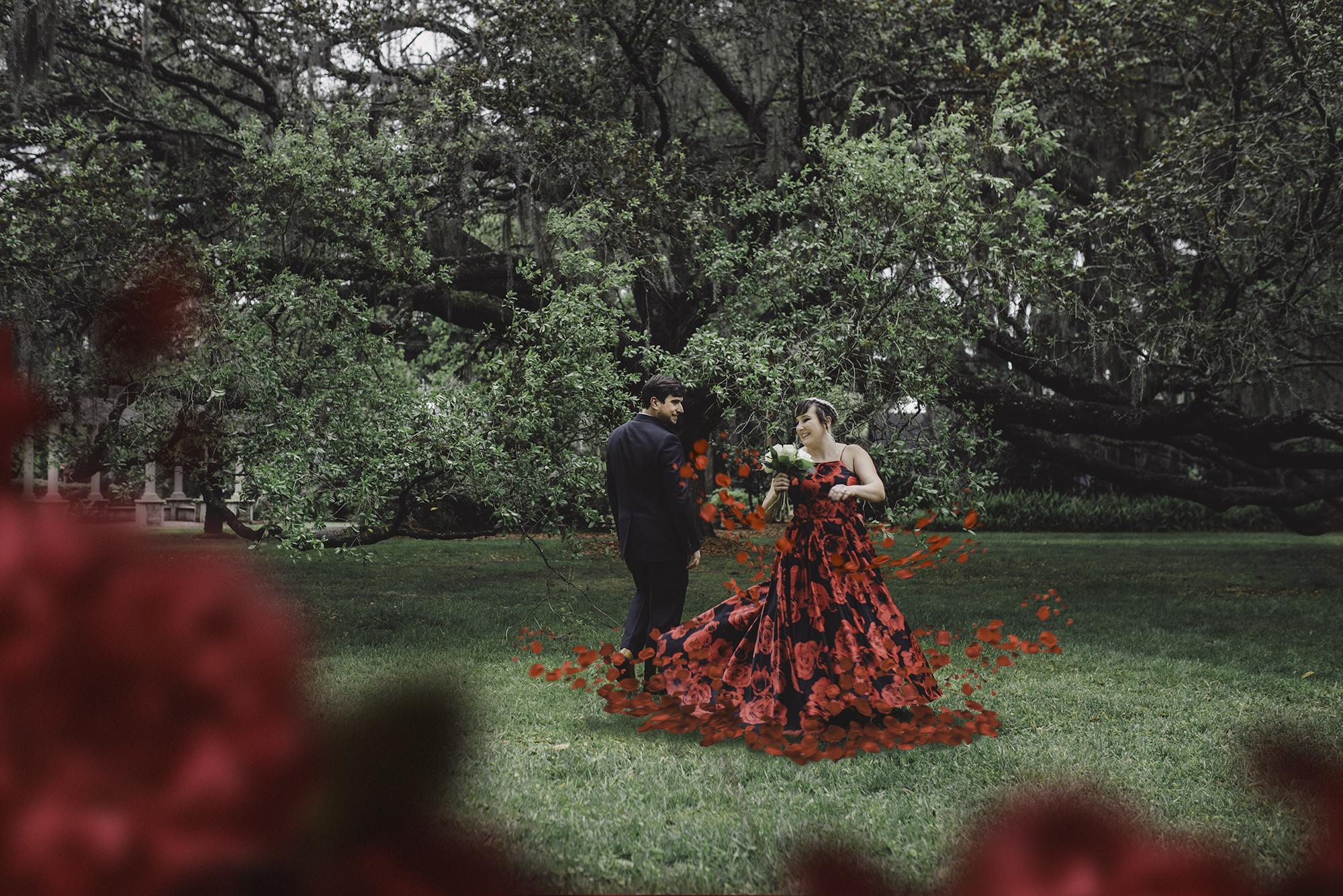 Thomas Center Garden Wedding