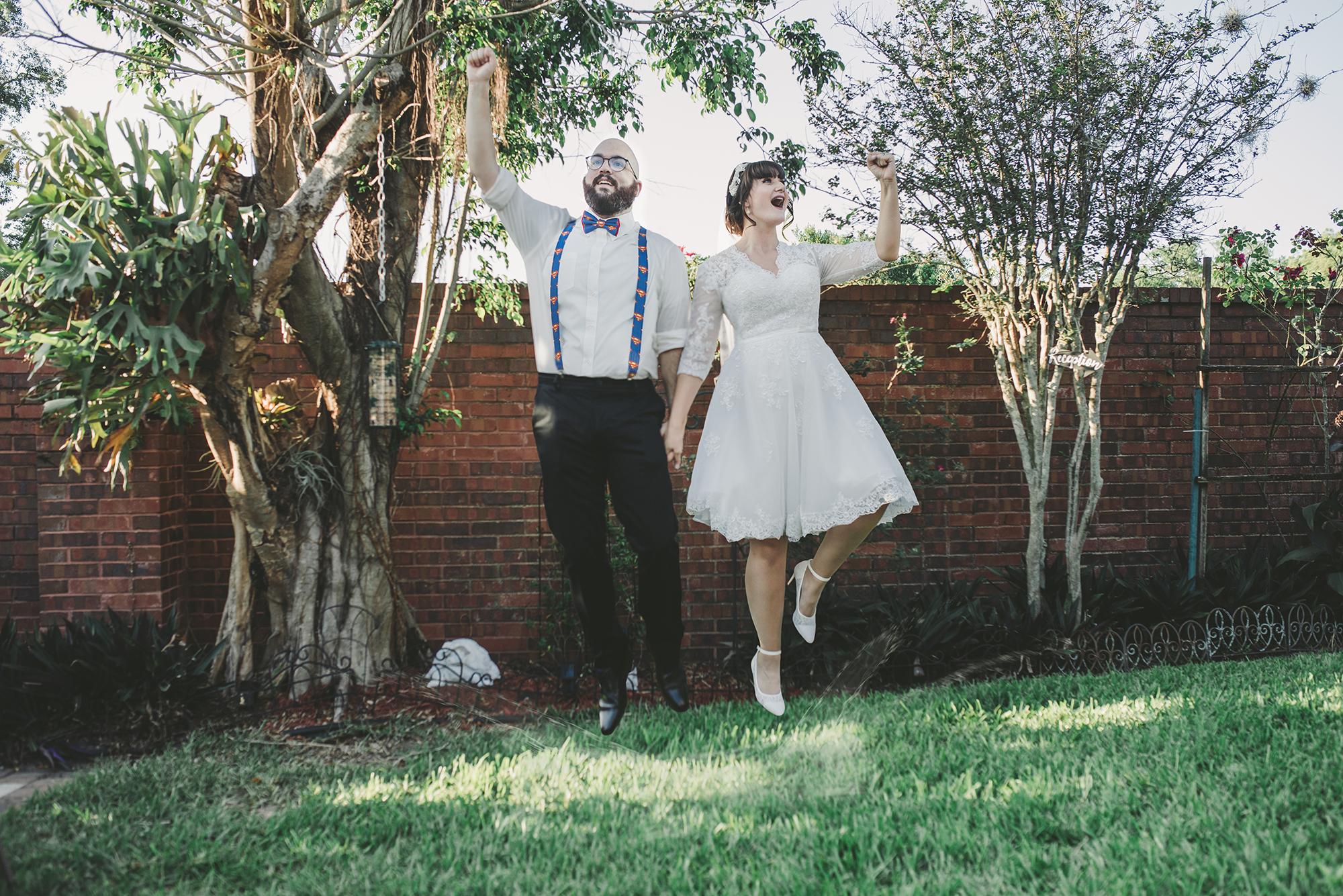 Orlando Offbeat Wedding