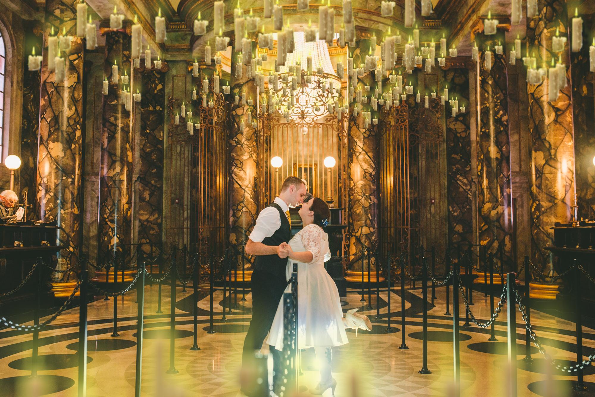 Wizarding World Wedding Photographer
