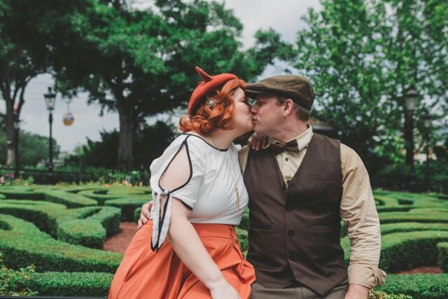 Best Animal Pattern 🦊 ...or I'm just partial to foxes, but isn't this Fox and Hound dapper adorable? I love everything about it! Equally adorable, these two. 🧡🤎🧡  #thedapperdayphotographer #dapperday @dapperday #dapperday2021 #orlandophotographer #disneyphotographer #foxandhound #disneybound