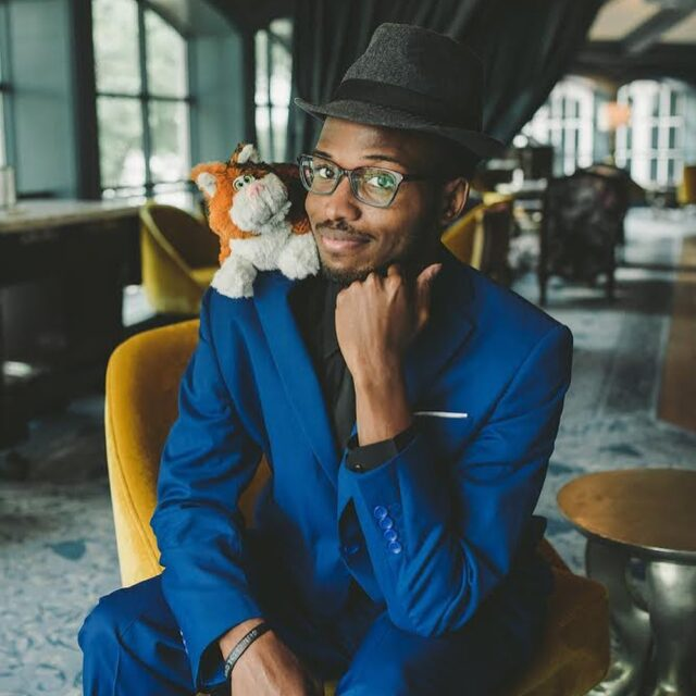 """Your votes are counted, and Mr. Haki Coats @hakizzle91 is Imágemária's Spring 2021 Dapper Day's Most Dapper Winner! Congrats! 🎉   I somehow knew he would win. He was the first under my lens that weekend, and in that blue suit and Soul vibe... totally """"Most Dapper"""".  You're it, sir! Complimentary mini session to use anytime by Fall Dapper Day is yours to have fun with. 📷  #thedapperdayphotographer #PixarSoul #JoeGardner @dapperday #mostdapper"""