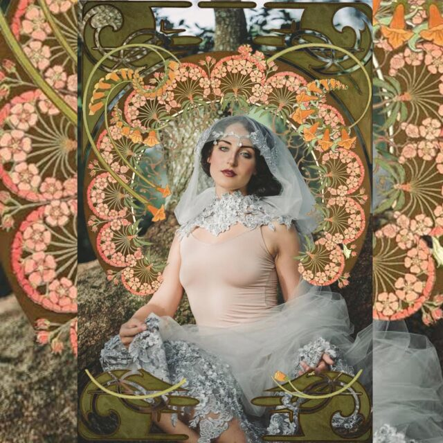 Happy Birthday to my favorite Art Nouveau artist — Alphonse Mucha! 🎉 I have been incorporating his elaborate halos and Nouveau design style into fashion portraits a lot lately; I've discovered the motif is so versatile it can go bridal, fashion, fantasy, spooky or even maternity.  Did you know Mucha was an avid portrait photographer? He photographed and fashion-designed all his models himself, then illustrated the final products. I've been studying his poses over here… as I rarely pose people anymore, it's the only posing study I've done lately.   Mucha's designs have been used everywhere from vintage era advertising to stained glass windows to calendars and posters.   A little nod to Alphonse Mucha today on his 161st birthday!  *shaking fist at Insta's square-conformity for gorgeous verticals*  #alphonsemucha #orlandoweddingphotographer #orlandophotographer #artisticphotography #artnouveau #artdeco